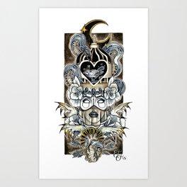 Queen Of Wishful Thinking Art Print
