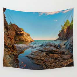 Presque Isle Cove Wall Tapestry