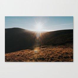 Sundown - Landscape and Nature Photography Canvas Print