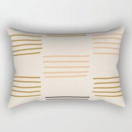hatches Rectangular Pillow
