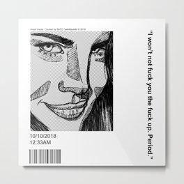 Lana :) Metal Print