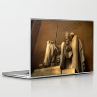 lincoln Laptop & iPad Skins featuring Abraham Lincoln by Chad Madden