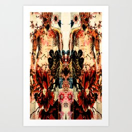 MEMO Corpus Art Print