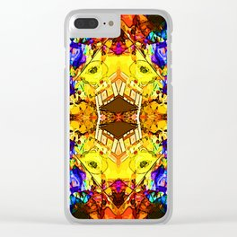 Pattern-194 Clear iPhone Case