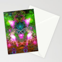 Angels From Twin Worlds Stationery Cards