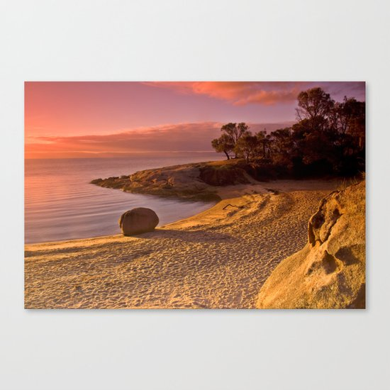 Honeymoon Bay Canvas Print