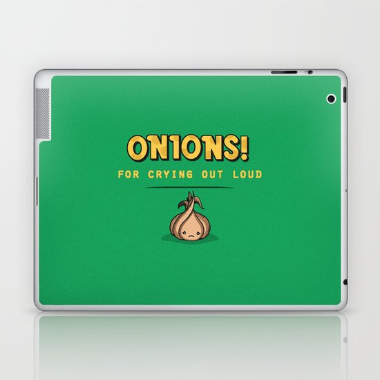 For Crying Out Loud Laptop & iPad Skin