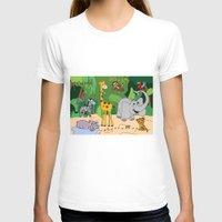 jungle T-shirts featuring JUNGLE by Rebecca Bear