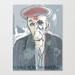William S. Burroughs Canvas Print