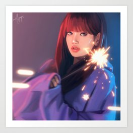 BLACKPINK Lisa Art Print