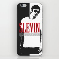 scarface iPhone & iPod Skins featuring Lucky Scarface Slevin. by Agu Luque