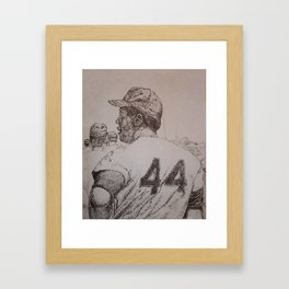 Baseball Framed Art Print