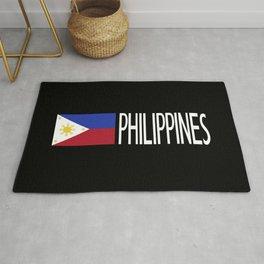 Philippines: Filipino Flag & Philipinnes Rug