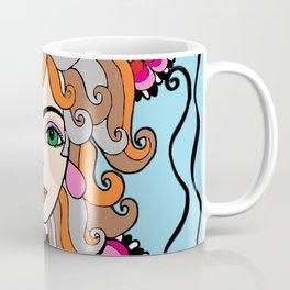 Style Girl - Shella - Blue Coffee Mug