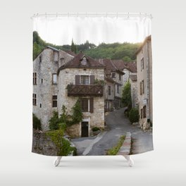 That Village in the French Countryside Shower Curtain