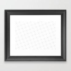 helix pattern#1 Framed Art Print
