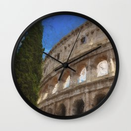 Rome, Colosseum Wall Clock