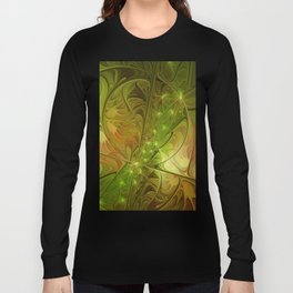 Hope, Abstract Fractal Art Long Sleeve T-shirt