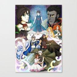 Rise of the Tsubasa Chronicles Canvas Print