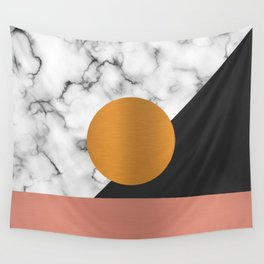 Marble & metals Wall Tapestry