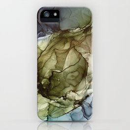 Calm Nature- Earth Inspired Abstract Painting iPhone Case