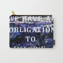Imagination Quote Carry-All Pouch