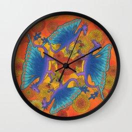 Dragondala Fall Wall Clock