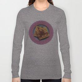 Waffles With Syrup Long Sleeve T-shirt