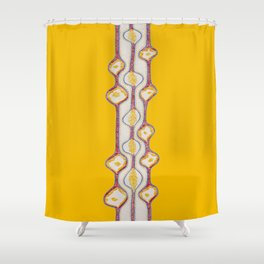 stitches - growing bubbles 2 Shower Curtain