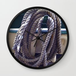 Old Rope Wall Clock