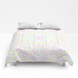 Pastel Kaleidoscope 1 Comforters