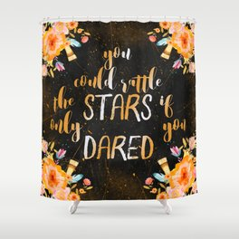 Rattle the stars (tog) Shower Curtain