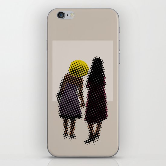 She tried, but all she could see was the missing picture iPhone & iPod Skin