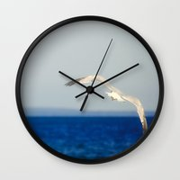 flight Wall Clocks featuring Flight by Pure Nature Photos