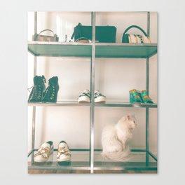 Cats & Heels Canvas Print