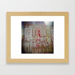 Full of Grace Framed Art Print