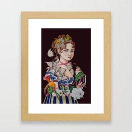 The Ardent Protagonist Framed Art Print