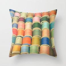 Sew a Rainbow Throw Pillow