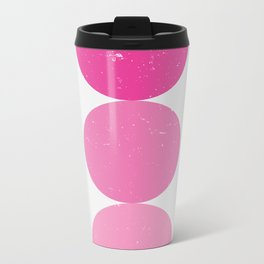 pink i 001 Metal Travel Mug