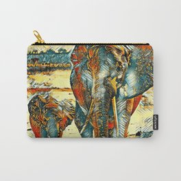 AnimalArt_Elephant_20170903_by_JAMColorsSpecial Carry-All Pouch