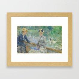 Summer's Day by Berthe Morisot Framed Art Print