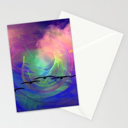 Out Of The Storm Stationery Cards