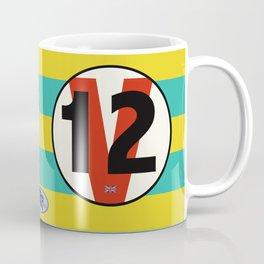 SRC Preparations Racecar Rebels: V12 British Coffee Mug