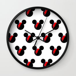 David Bowie Mouse Wall Clock