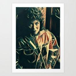 Zhora Art Print