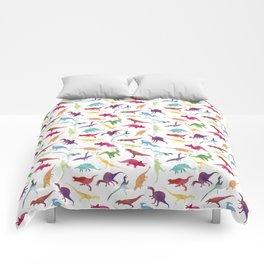 Watercolour Dinosaurs Comforters