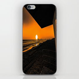 On Golden Tower iPhone Skin