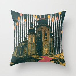 Sleep, those little slices of death Throw Pillow