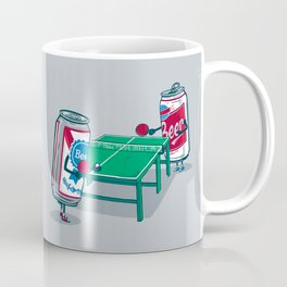Beer Pong Coffee Mug
