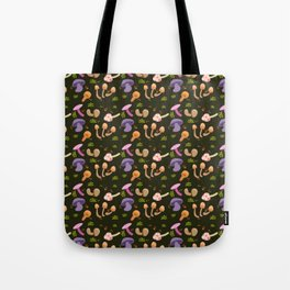Mushroom Dark Forest Tote Bag